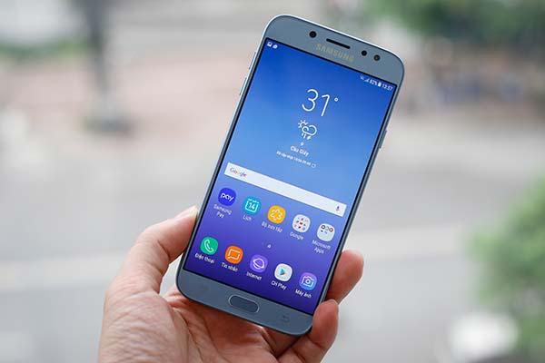 Samsung J7 Pro bị mất sóng