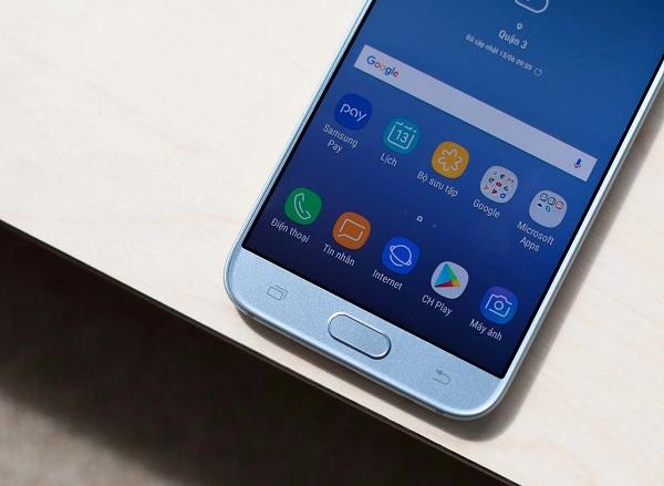 khắc phục Samsung J7 Pro lỗi không nhận sim