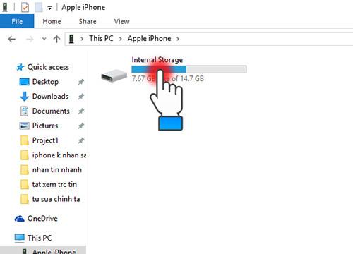 copy dữ liệu từ iphone vào máy tính
