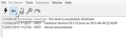 Đưa điện thoại sony về chế độ recovery mode với Flashtool