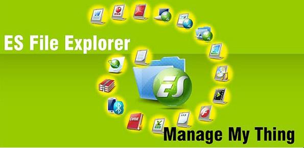 Chặn trang web trên Android với phần mềm ES File Explorer