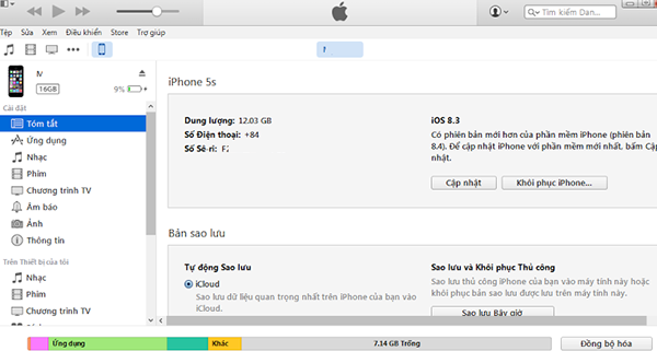 Sửa iPhone bị vô hiệu hóa kết nối iTunes