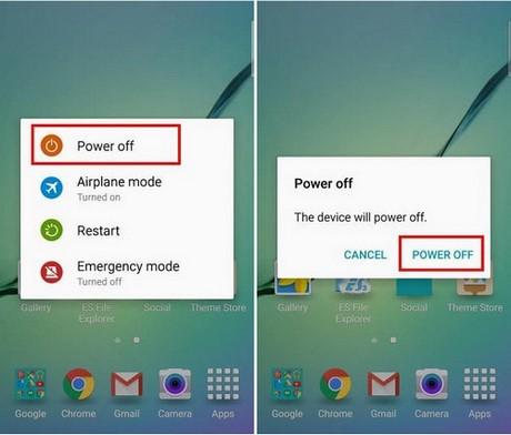 Cách tắt chế độ an toàn trên Samsung