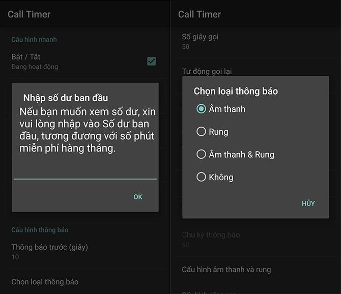Hướng dẫn giới hạn thời gian cuộc gọi cho Samsung