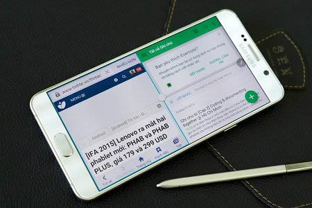 Chia đôi màn hình Android