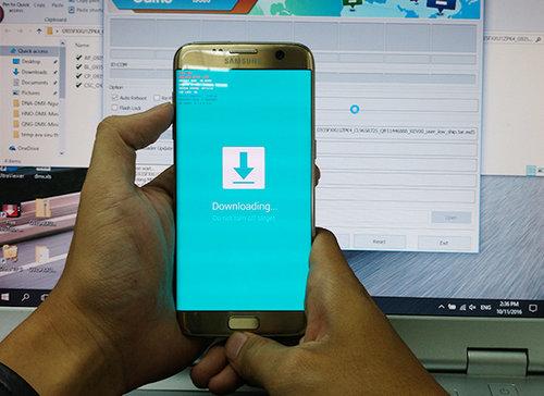 up ROM bằng odin cho các máy Samsung