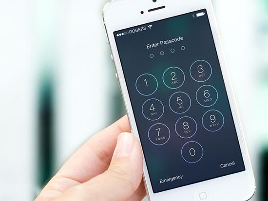 Cách phá quên mật khẩu iPhone 7