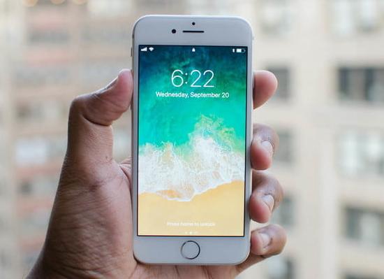 iphone 8 be mat kinh
