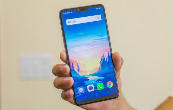 oppo f7 be mat kinh