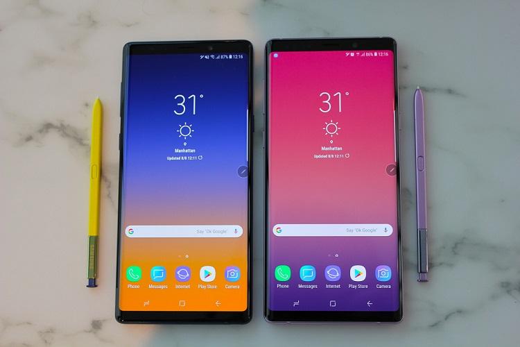 Lưu ý khi thay mặt kính Samsung Note 9