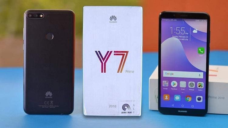 Địa chỉ thay màn hình Huawei Y7 Prime uy tín