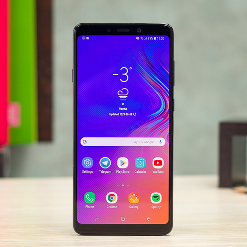 mặt kính Samsung A9 2018