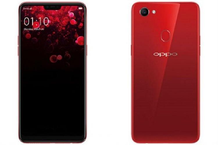 Oppo F7 màu đỏ cực sang chảnh