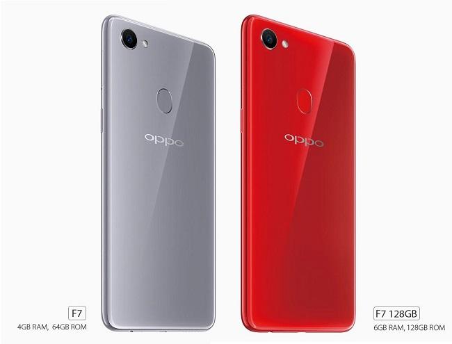 Oppo F7 ra mắt với thiết kế tai thỏ