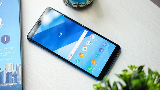 cách khắc phục Samsung A7 bị sọc màn hình