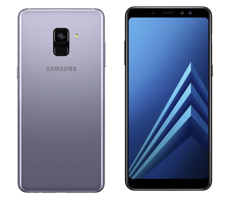 Samsung A8 nóng máy