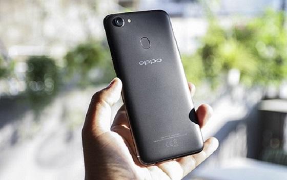 Khắc phục Oppo F5 sọc màn hình