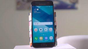 Khắc phục Samsung A5 2017 nứt mặt kính