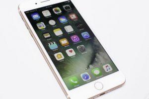Camera trước iPhone 7 bị mờ