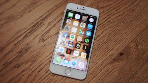 Biểu hiện hư camera trước trên iPhone 7