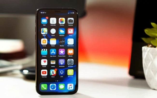 Lỗi hư hỏng camera trước trên iPhone X
