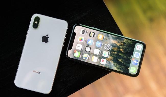 Camera sau iPhone X chụp hình bị đen