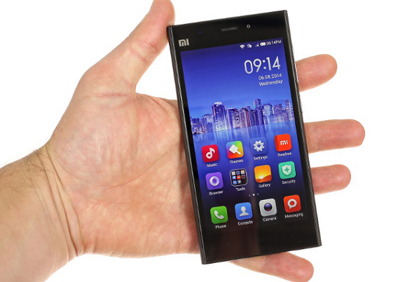 loi xiaomi mi 3 do man hinh