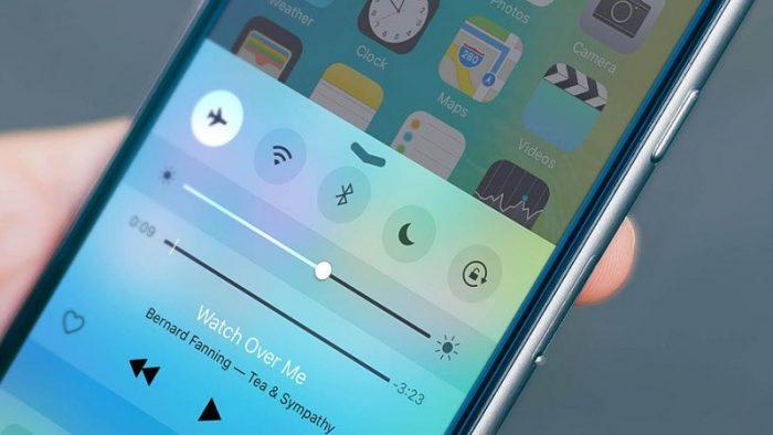 Bật và tắt chế độ máy bay iphone 7