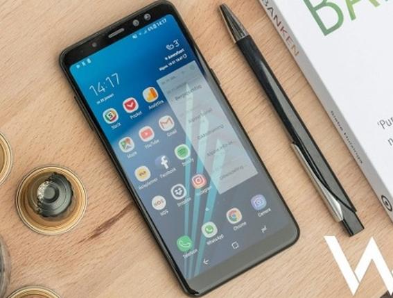 Samsung A8 hư mặt kính