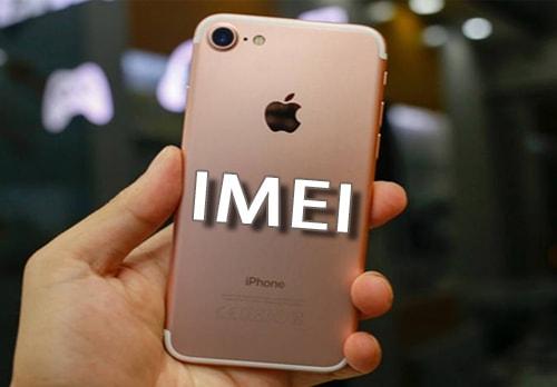 kiểm tra số IMEI trên iPhone 7