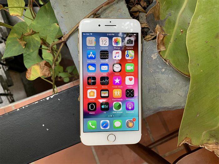 Màn hình iPhone 7 plus bị rung