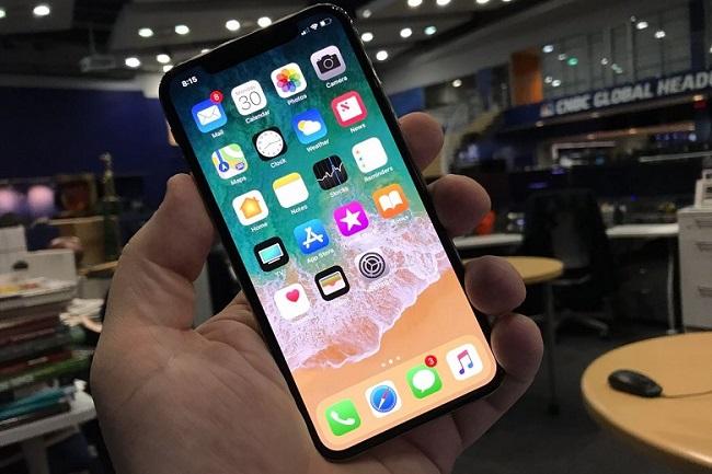 Dấu hiệu pin iPhone X bị chai