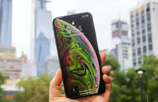 iphone xs dom man hinh