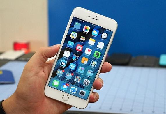 nhan thay man hinh iphone 6s plus