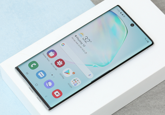 samsung note 10 nong may