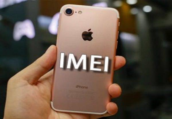 mất IMEI trên iphone