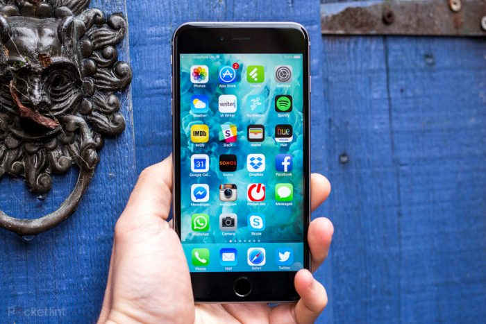 màn hình iPhone 6s plus bị treo táo nhấp nháy
