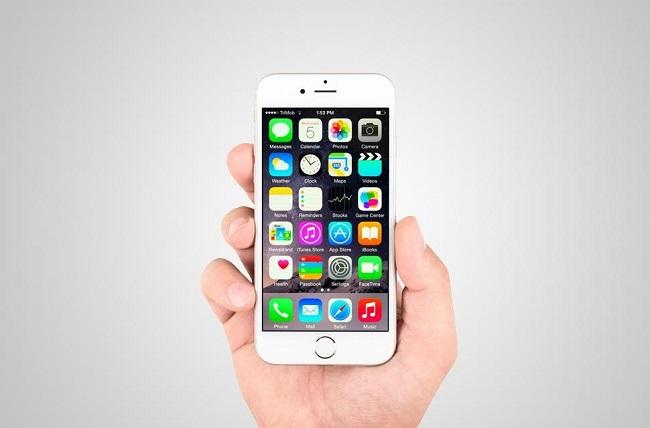 Sửa lỗi iphone 6 sọc màn hình
