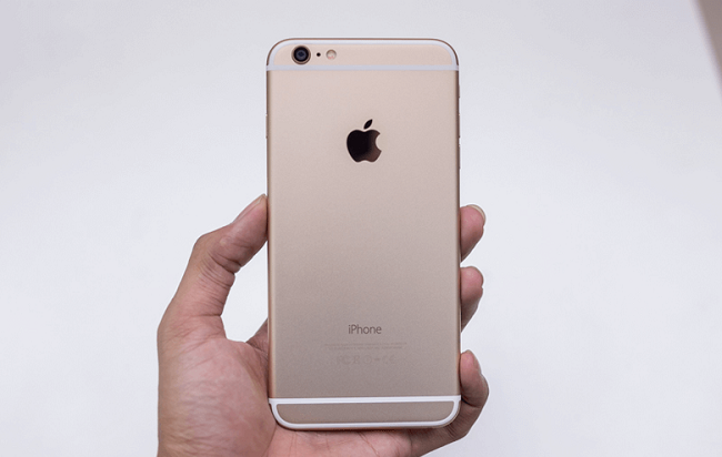 iphone 6 plus đơ màn hình