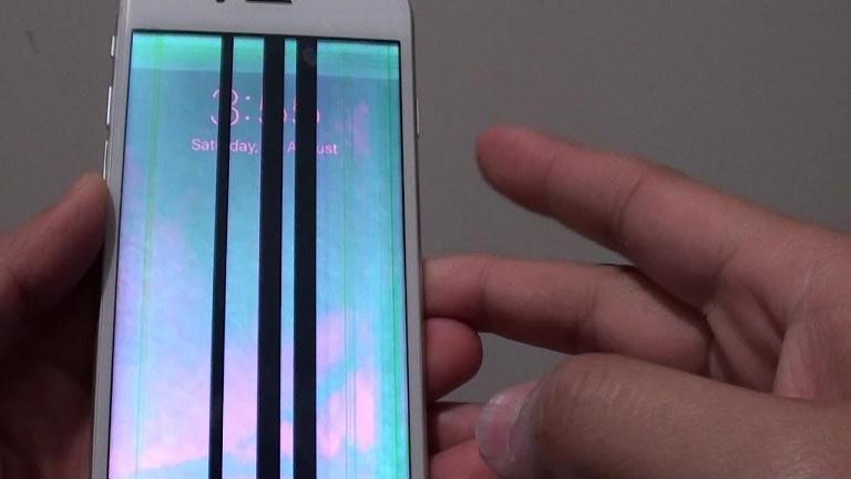 Hướng dẫn bạn khắc phục màn hình iphone 6s plus bị sọc mờ