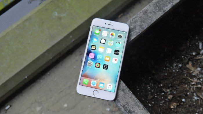 Lỗimàn hình iPhone 6s Plus bị sọc mờ