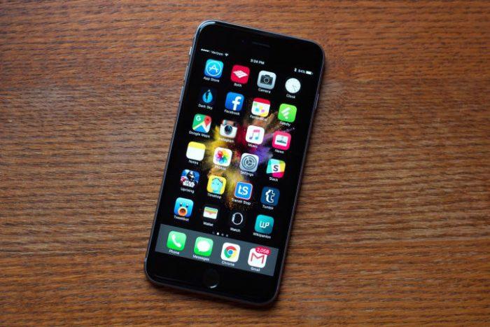 Tại sao màn hình iPhone 6s Plus bị đen ?