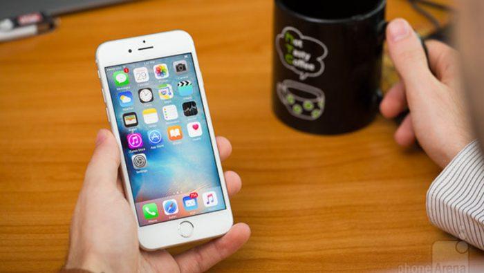 lỗi iPhone 6s hao pin nhanh