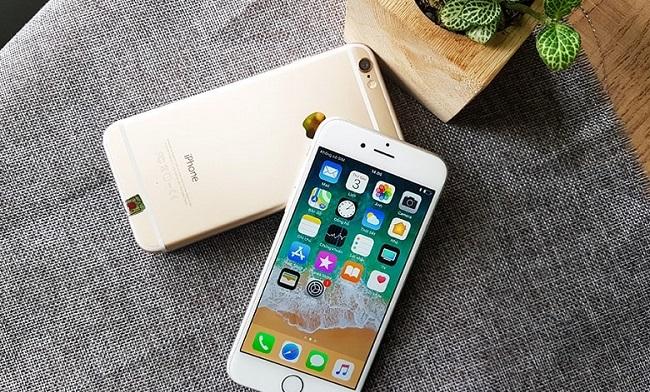 iphone 6 bị chảy mực