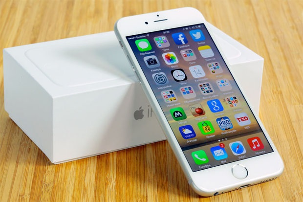 Đập hộp iphone 6 white