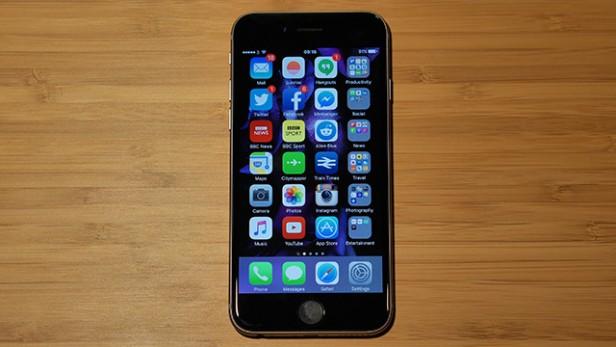 Hạn chế sử dụng iphone 6s với cường độ cao