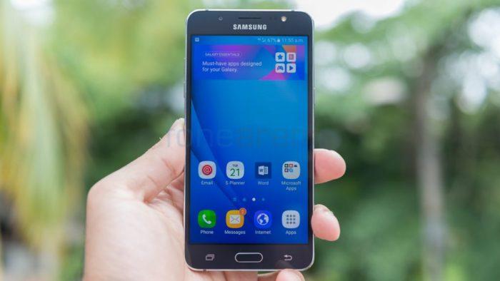 chụp màn hình Samsung J5 2016
