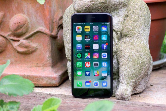 iPhone 7 Plus không tải được ứng dụng