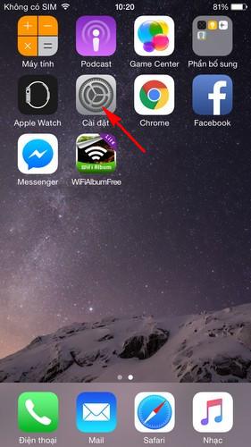 Kiểm tra bộ nhớ của iPhone 7 Plus