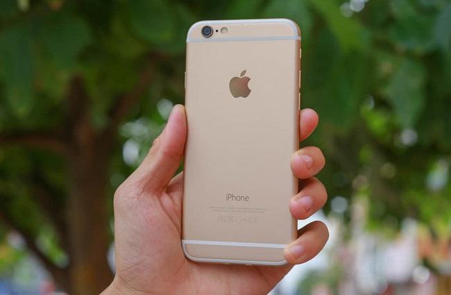 iPhone 6 bị liệt cảm ứng 1 hàng